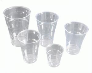 Congelare nei bicchieri di plastica